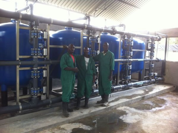 Multi Media Filtration System Puretec Water Engineering Ltd